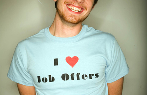 I heart job offers T-shirt