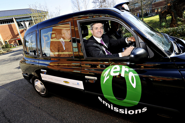 London's green cabs