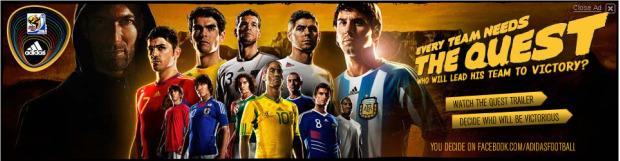 Adidas World Cup ad
