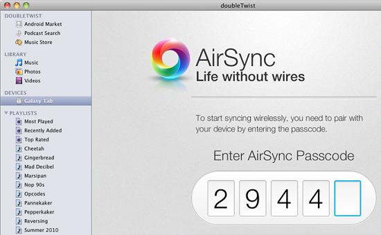 AirSync