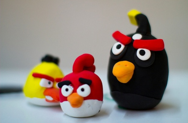 Angry Birds plush toys