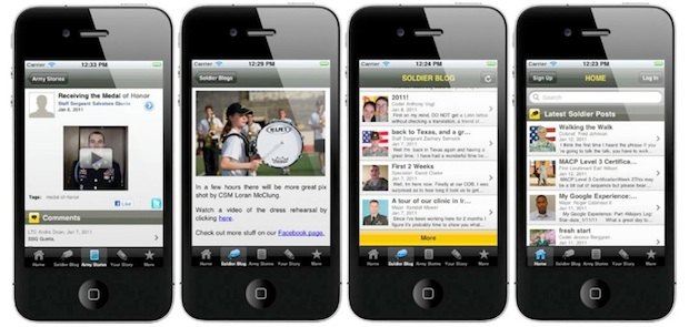 Army iPhone app