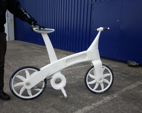 3-D printed bike