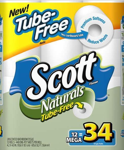 Scott Naturals Tube-Free Toilet Paper