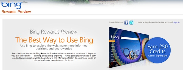 Bing Rewards