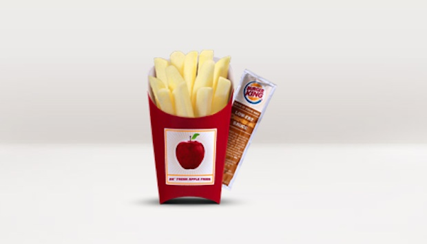 Burger King Fresh apple fries