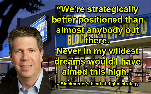 Blockbuster's Kevin Lewis