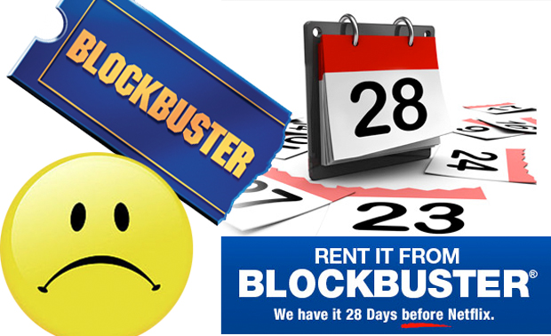 Blockbuster sad face