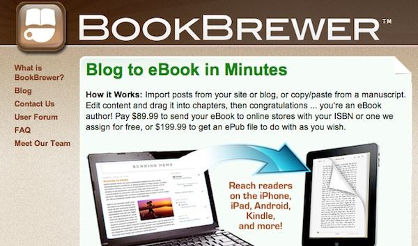 BookBrewer e-books