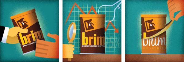 Brim Coffee | Illustration by David Cowles