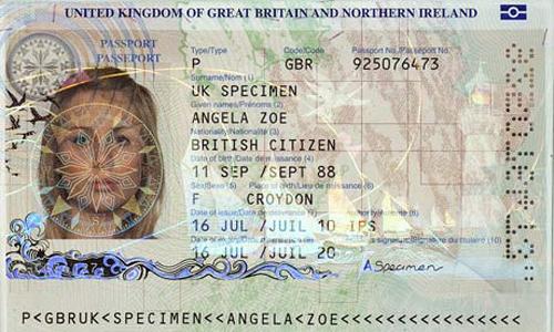 american passport last page - photo #37