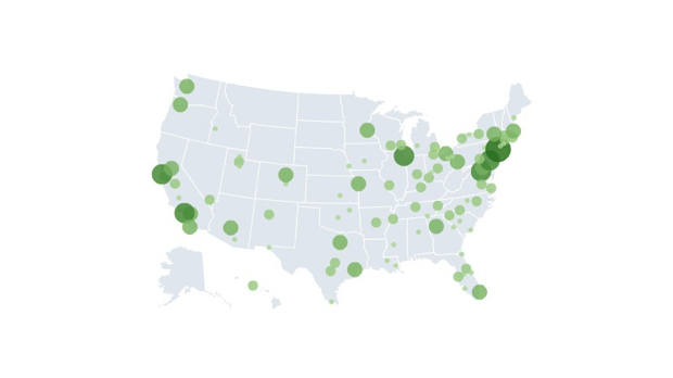 Brookings clean tech map