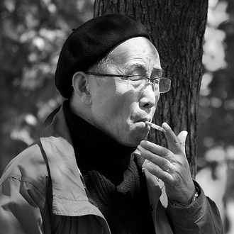 South Korean smoker