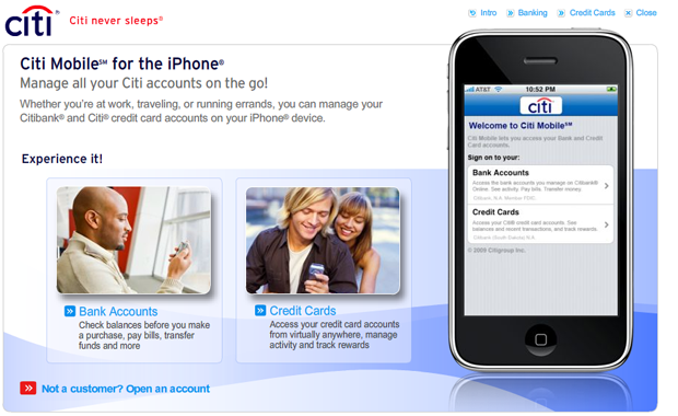 Citibank Mobile