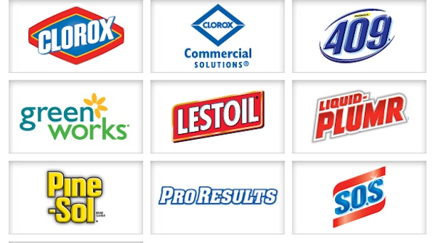Clorox products