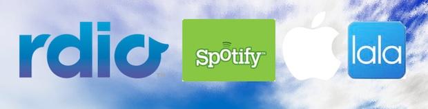 Rdio Spotify