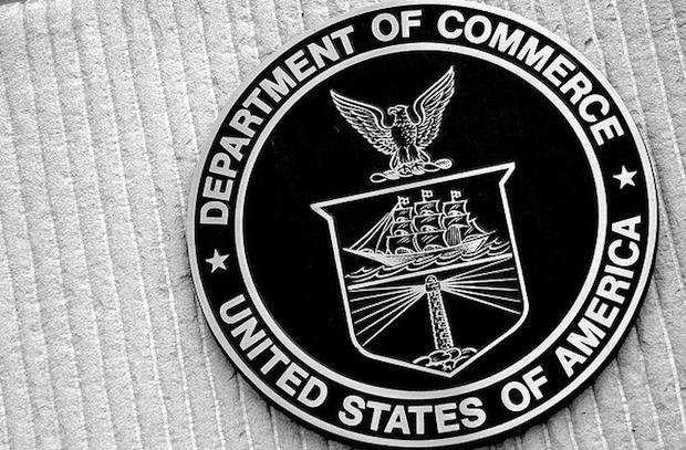 Dept. of Commerce seal