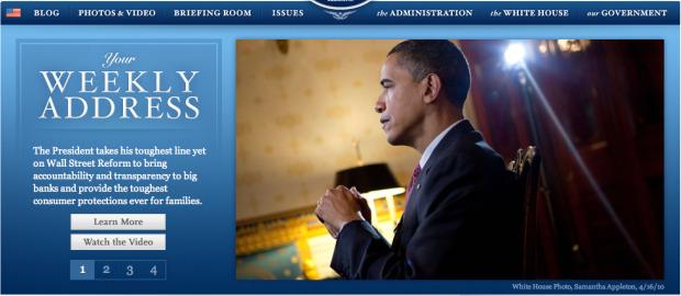 White House Web site
