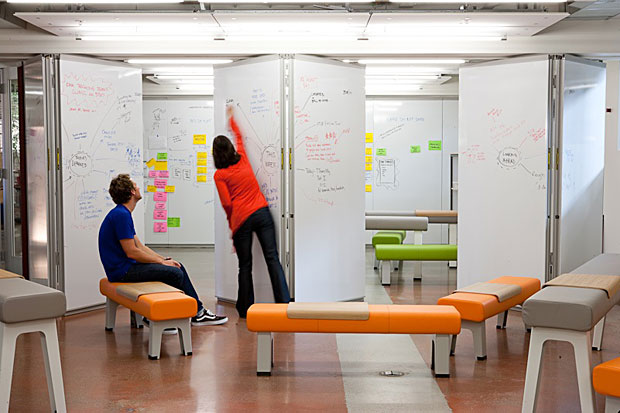 Jane 39 s pick of the day how to create a collaborative for Innovative office space ideas
