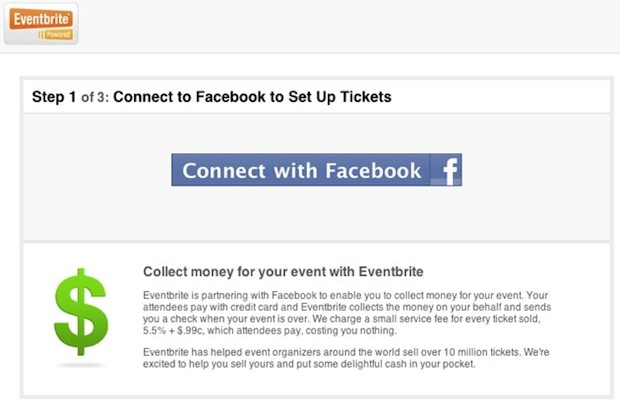 Facebook Eventbrite