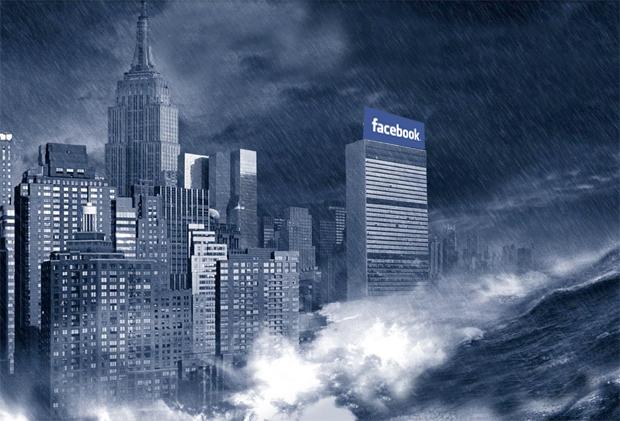 End of Facebook illustration