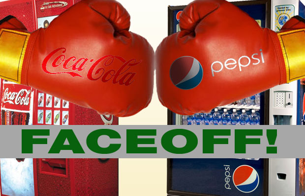 Coke Pepsi faceoff