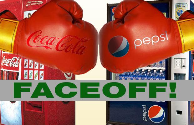 Coke Pepsi faceoff