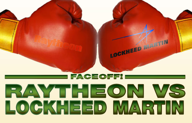 Raytheon Lockheed faceoff