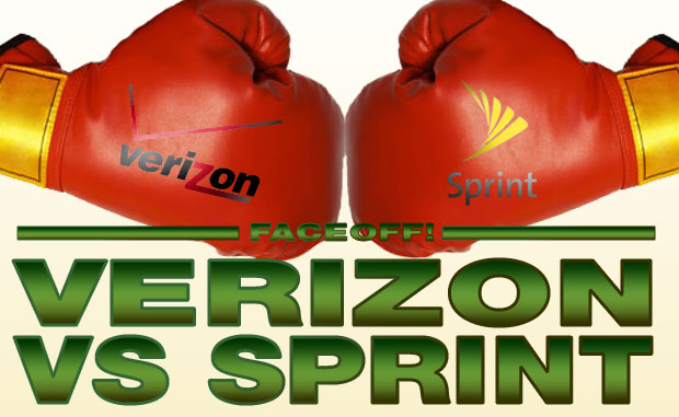 verizon vs. sprint faceoff