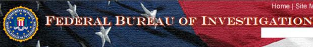 FBI top website banner