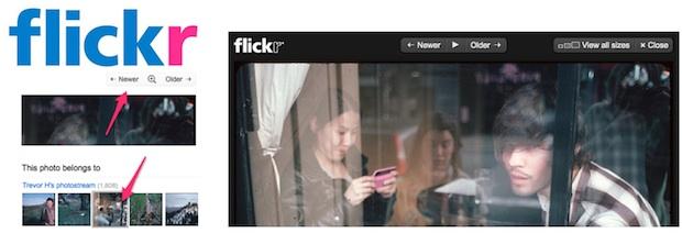 flickr design