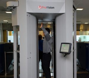 Full-body airport scanner. Image via Department of Homeland Security