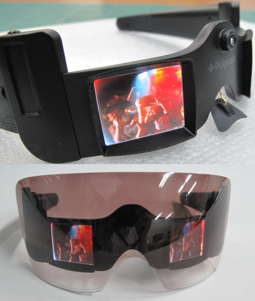 Lady Gaga Glasses With Camera. The sunglasses are not the