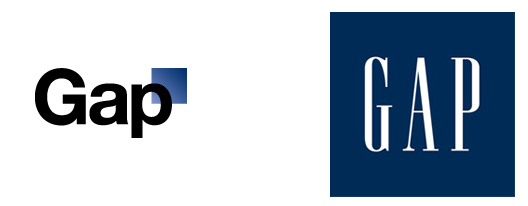new Gap logo