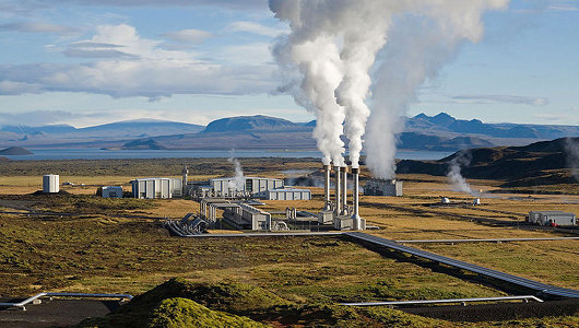 geothermal plant