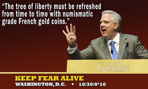 Glenn Beck gold