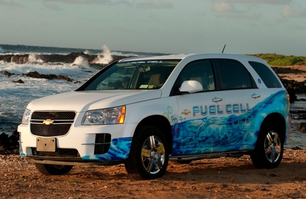 GM Hawaii Fuel Cell vehicle
