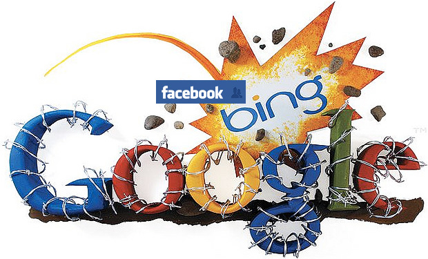 Bing-Facebook mount assault on Google