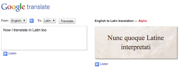 English To Latin Translato 82