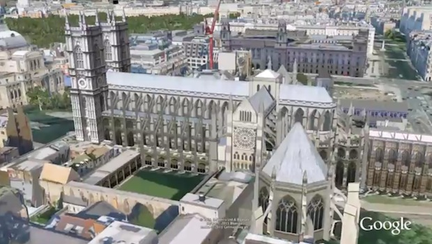 Google London 3-D