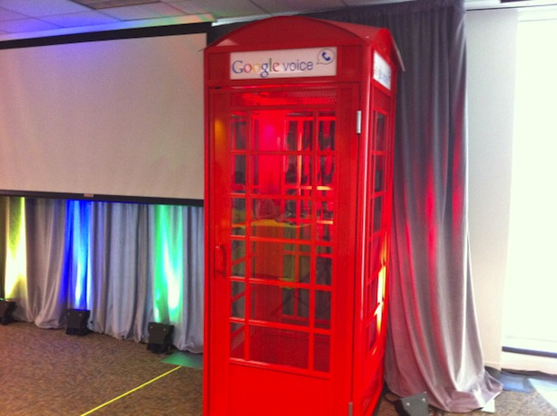 Google phone booth