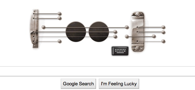 Google guitar doodle