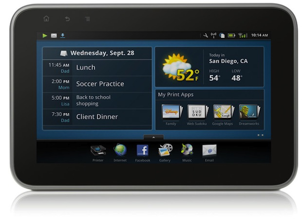 HP Photosmart eStation tablet