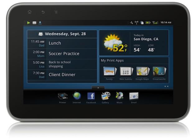 HP Photosmart eStation tablet