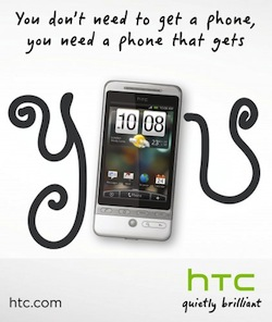HTC ad