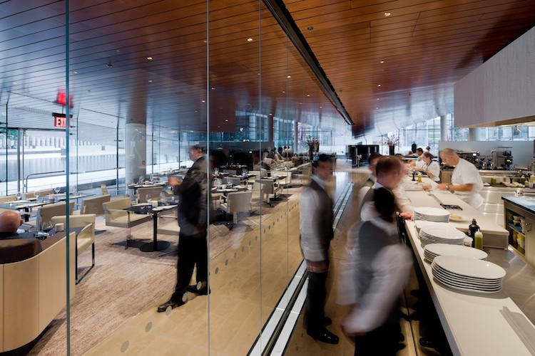 Diller Scofidio Renfro Completes Restaurant With An
