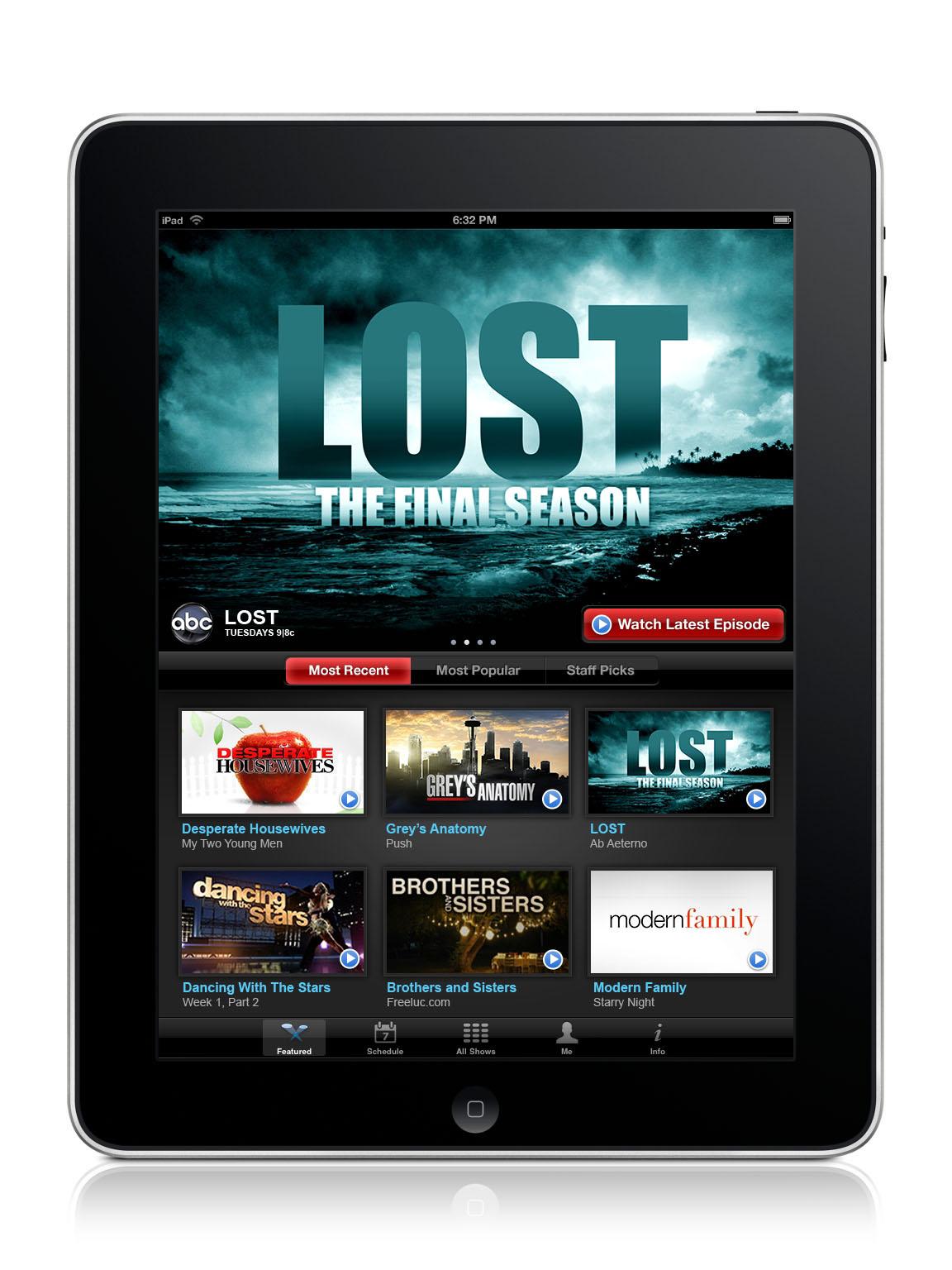 TV on iPad