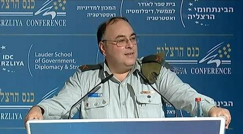 IDF spokesperson Avi Benayahu