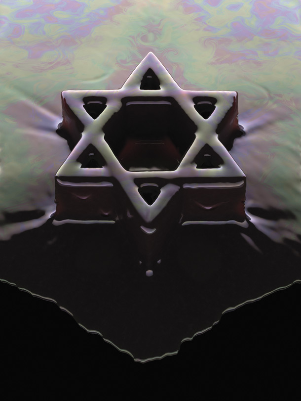 Oil Star of David