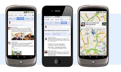 Google Buzz on smartphones